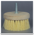 "7"" Tampico Rotary Scrub Brush with 5/8 Arbor"