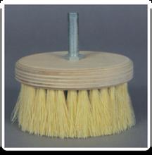 """7"""" Tampico Rotary Scrub Brush with 5/8 Arbor"""