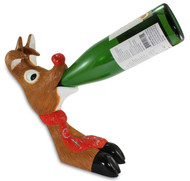Wine Bottle Holder - Reindeer