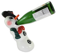 Wine Bottle Holder - Snowman