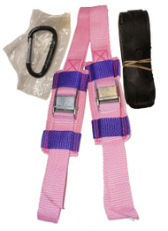 UP BEST Snowshoe Bindings (Pink/Purple)