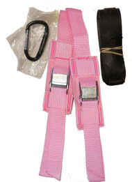 UP BEST Snowshoe Bindings (Pink)