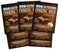 Cooking Wild Seasonings 4 Pack - Create Your Own!
