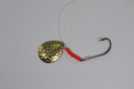906 Outdoors Spinner Rig - Gold with Red Beads