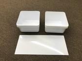 Dometic 2932621010 RV Refrigerator Crisper Bin 2 Pack