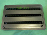Dometic 3109350065 RV Refrigerator Side Wall Vent Black