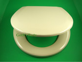 Thetford 36745 RV Tecma Toilet Seat With Lid Bone