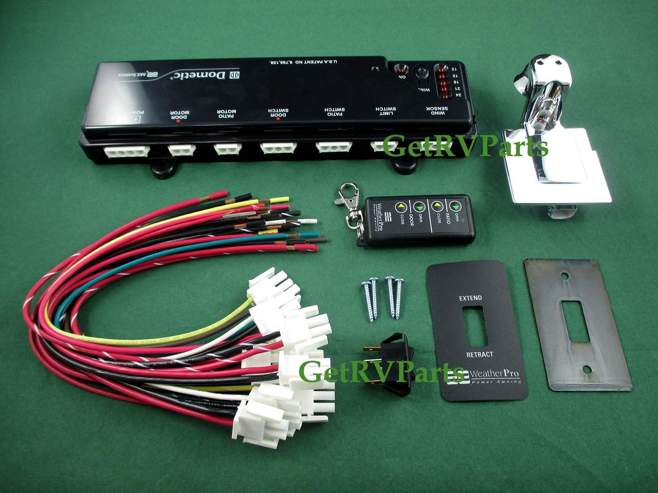 Dometic 3311588.000 Arm Cap Assembly Kit