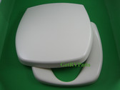 Thetford 36769 RV Toilet Seat and Lid Parchment