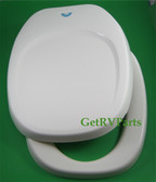 Thetford 36787 RV Toilet Seat and Lid Parchment
