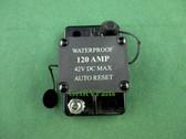 Bussmann GCA-B120 RV 120 Amp DC Waterproof Auto Reset Breaker