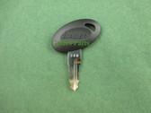Bauer | Code 348 | RV Entry Door Lock Replacement Key