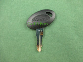 Bauer | Code 356 | RV Entry Door Lock Replacement Key
