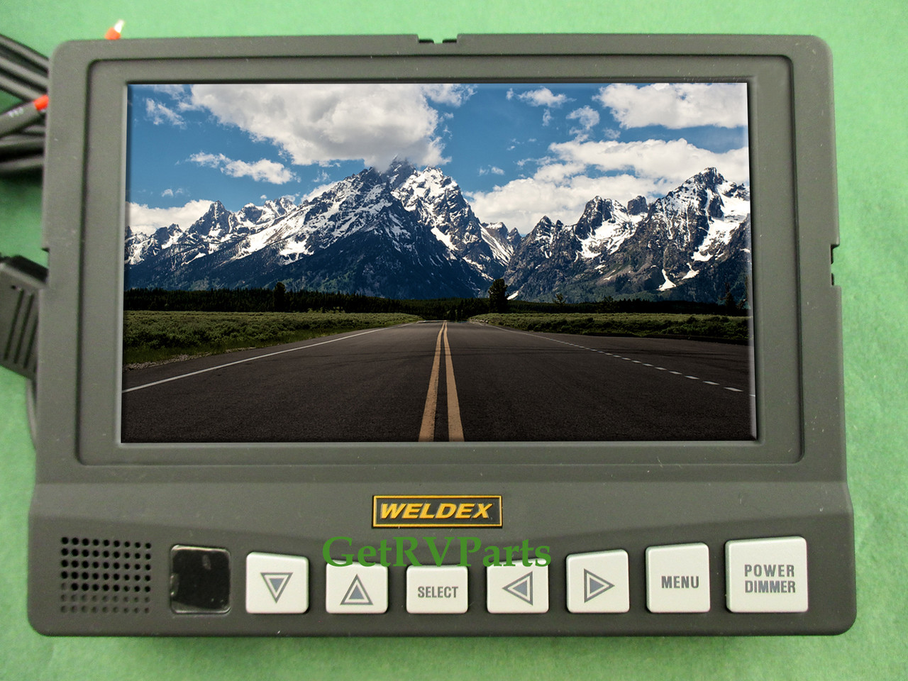 Weldex WDRV-7041M Rear View 7 Inch Backup Monitor on