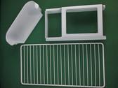 Dometic 29326270255 RV Refrigerator Wire Freezer Shelf, Juice Rack, Small Shelf