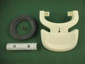 Thetford 31710 Aqua Magic V RV Toilet Pedal Kit Parchment