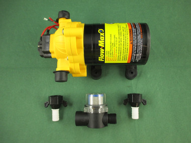 Flow Max 689052 Fresh Water Pump 3 Chamber DS-01230-D2