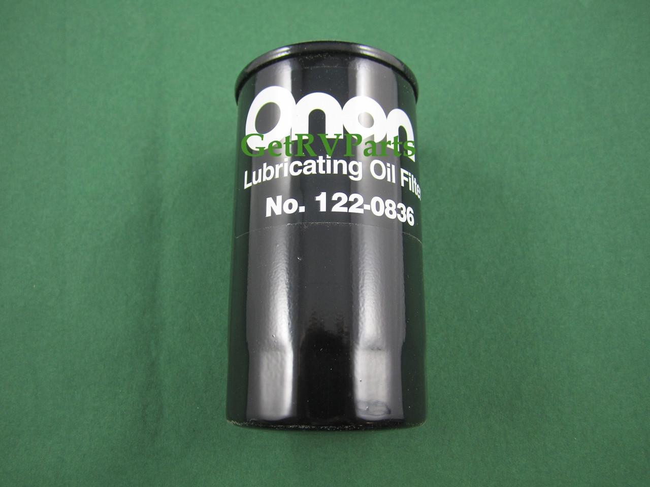 Onan Cummins 122-0836 RV Generator Oil Filter