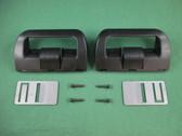 Dometic 38511740311 RV Refrigerator Door Handle Black With Airing Cards