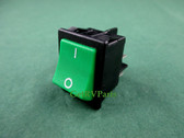 Dometic | 2951433107 | RV Refrigerator 120 Volt Green Rocker Switch