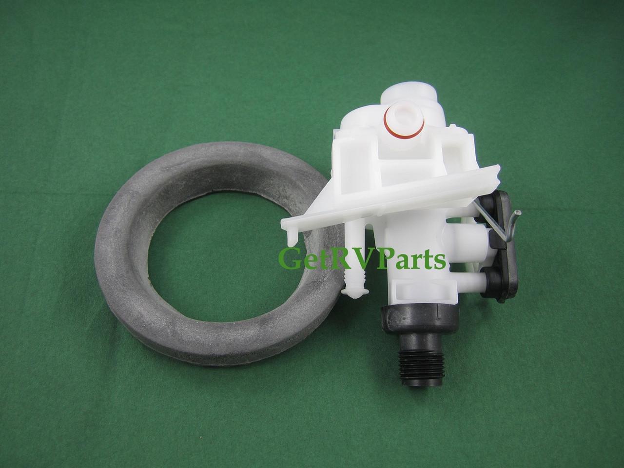 Thetford Toilet Parts : Genuine thetford rv toilet water valve fits aqua magic iv