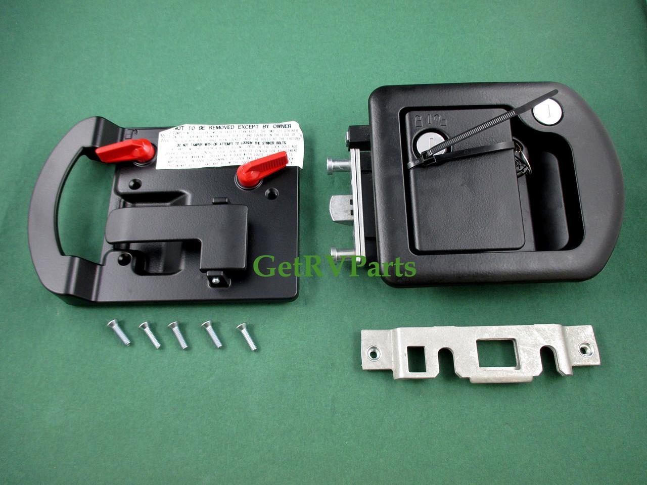 RV Entry Door Lock 013-257 Bauer Replacement For Trimark 060-1650 60-650