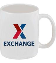 X Exchange Classic Ironstone Coffee Mug