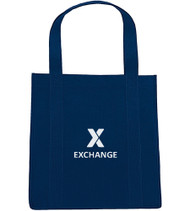 X Exchange Extra-Wide Polypropylene Grocery Tote