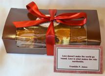 Valentine's Gift Sampler (4 half slices)