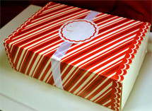 Customized Gift Sampler (Any Four Slices) Free Shipping - RED