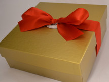 Fudge and Handmade Almond Toffee Gift Box