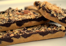 Handmade Toffee with Almonds, Ghirardelli Dark Chocolate and Sea Salt