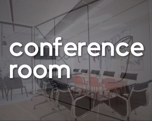 conference room decal office sign vinyl sticker company meeting