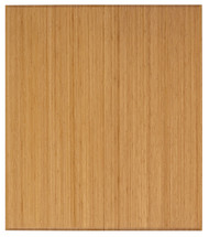 "Bamboo Tri-Fold Plush Chairmat, 42"" x 48"", no lip - Natural"