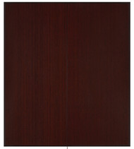 "Bamboo Tri-Fold Plush Chairmat, 42"" x 48"", no lip - Dark Cherry"