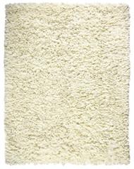 Crème Paper Shag Rug - 4' x 6'