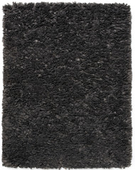Gray Paper Shag Rug - 5' x 8'