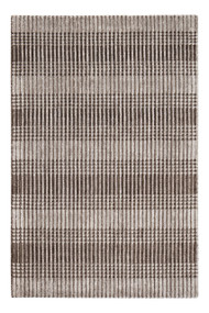 Hella Tufted Brown Area Rug  - 5' x 8'