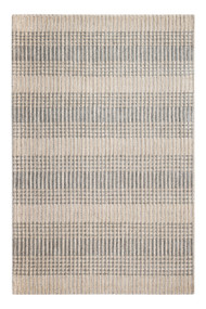 Hella Tufted Grey/Tan Area Rug - 5' x 8'