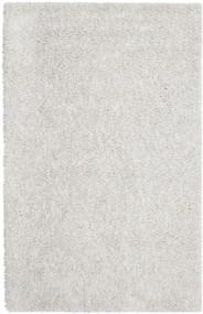 Ivory Silky Shag Rug - 5' x 8'