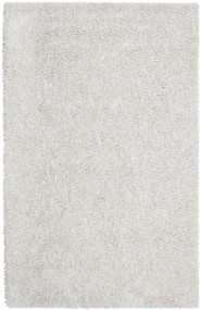 Ivory Silky Shag Rug - 8' x 10'