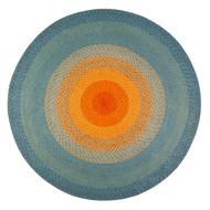 Olwyn Braided Round Area Rug  - 6' Round