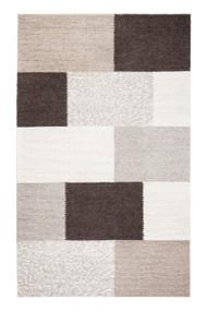 Rhea Tiled Wool-Blend Rug  - 5' x 8'