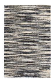 Xanthippe Ivory/Black Rug - 9' x 12'