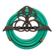 Whitehall Victorian Hose Holder - Oiled-Rubbed Bronze - Aluminum