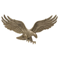 "Whitehall 29"" Wall Eagle - Antique Brass - Aluminum"