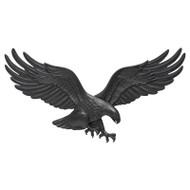 """Whitehall 29""""  Wall Eagle - Black - Aluminum"""