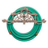 Whitehall Vine & Trellis Hose Holder - Copper Verdi - Aluminum