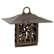 Whitehall Pinecone Suet Feeder - French Bronze - Aluminum