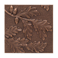 Whitehall Oak Leaf Wall Décor - Antique Copper - Aluminum